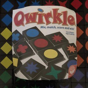 Qwirkle Tile Game Family Night All Pieces Included